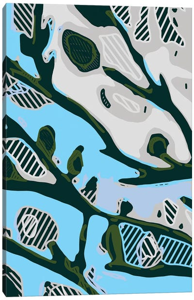 Abstract Tree Limbs I Canvas Art Print