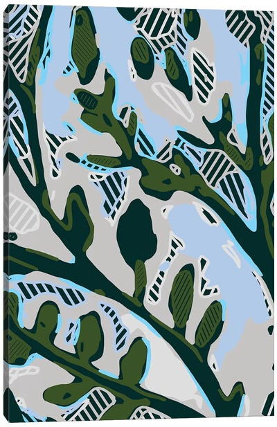 Abstract Tree Limbs II Canvas Art Print