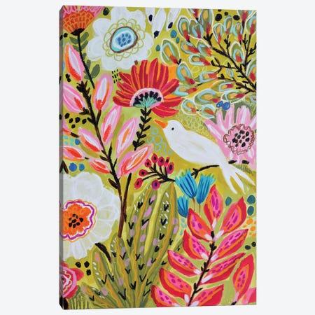 Garden Birds II Canvas Print #KFI58} by Karen Fields Canvas Artwork
