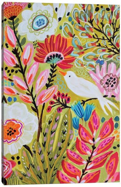 Garden Birds II Canvas Art Print