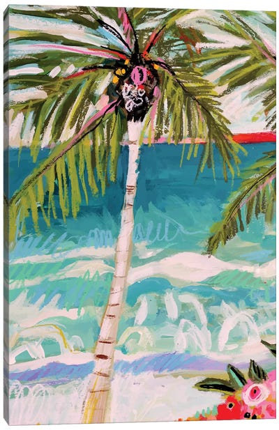Palm Tree Whimsy I Canvas Art Print