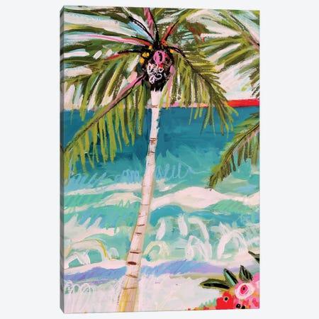 Palm Tree Whimsy I Canvas Print #KFI59} by Karen Fields Canvas Artwork