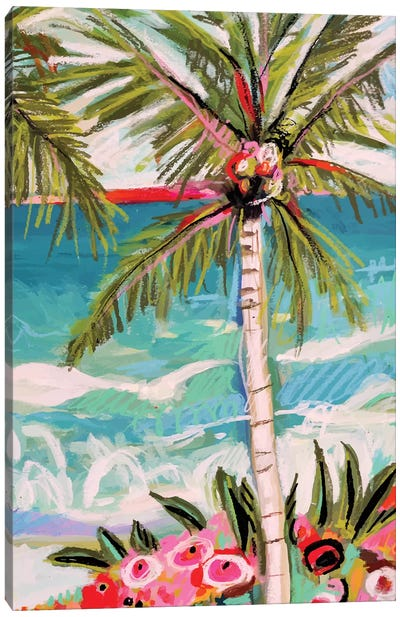 Palm Tree Whimsy II Canvas Art Print
