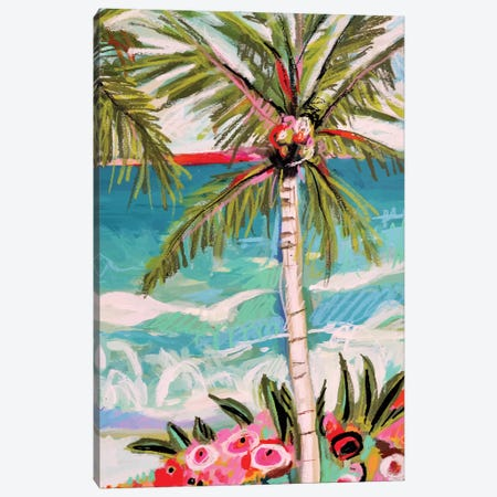 Palm Tree Whimsy II 3-Piece Canvas #KFI60} by Karen Fields Canvas Print