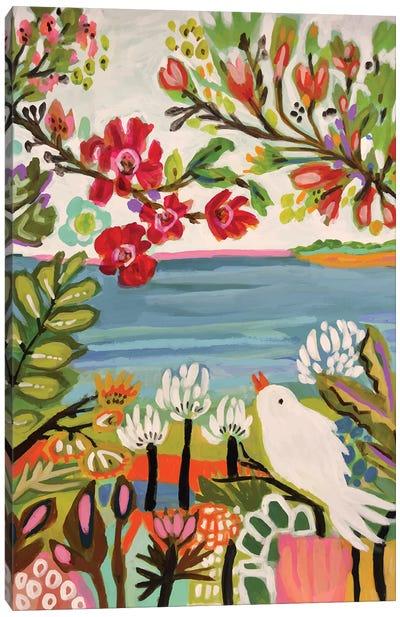Birds In The Garden II Canvas Art Print
