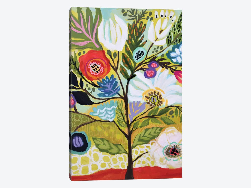 Flower Tree I by Karen Fields 1-piece Canvas Art Print