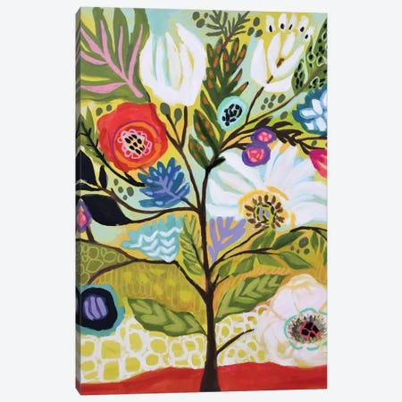 Flower Tree I Canvas Print #KFI67} by Karen Fields Canvas Wall Art