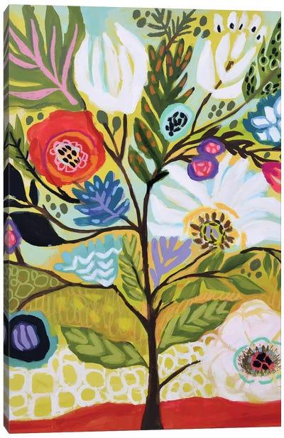 Flower Tree I Canvas Art Print
