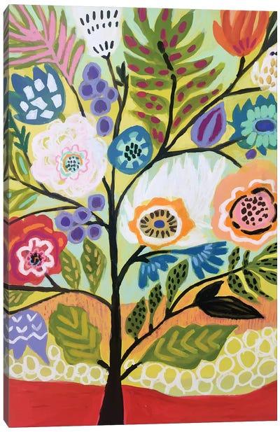 Flower Tree II Canvas Art Print