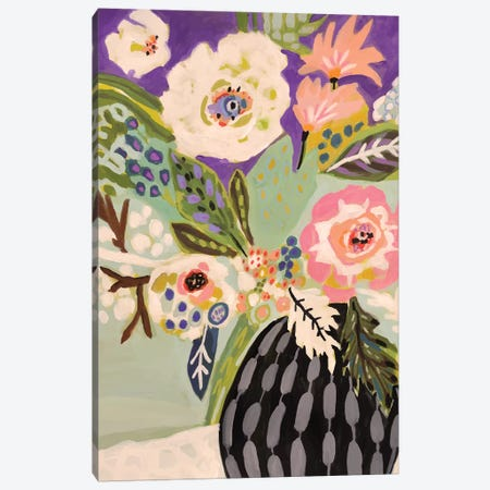 Fresh Flowers In Vase I Canvas Print #KFI69} by Karen Fields Art Print