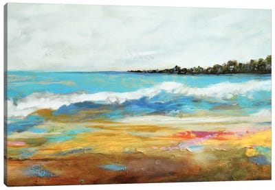Beach Surf II Canvas Art Print