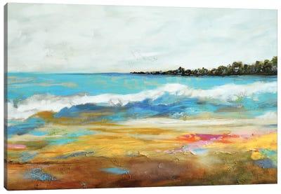 Beach Surf II Canvas Print #KFI6