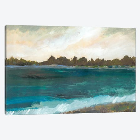 Seaside View II Canvas Print #KFI72} by Karen Fields Canvas Artwork