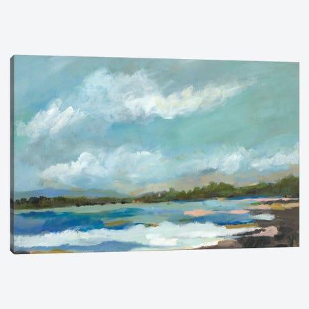 Seaside View IV Canvas Print #KFI74} by Karen Fields Canvas Print