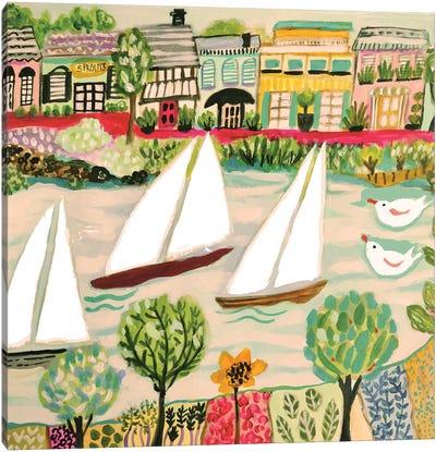 Smooth Sailing I Canvas Art Print