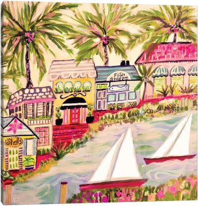 Smooth Sailing II Canvas Art Print