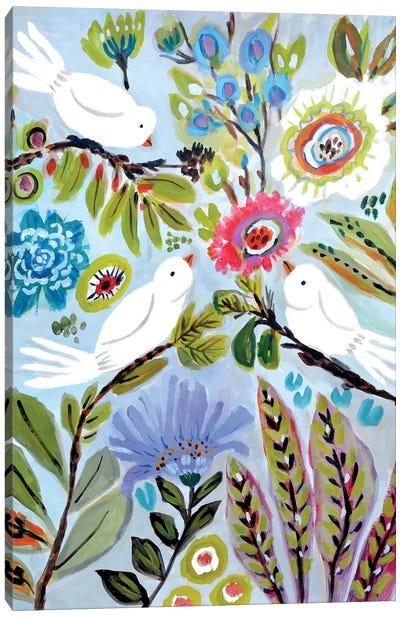 Bird Love I Canvas Art Print