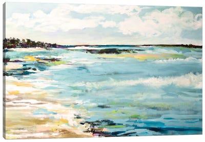 Beach Surf III Canvas Print #KFI7