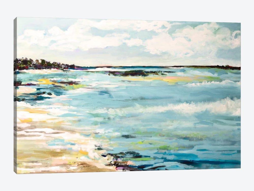Beach Surf III by Karen Fields 1-piece Canvas Artwork