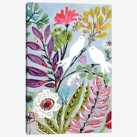 Bird Love II Canvas Print #KFI80} by Karen Fields Canvas Art Print
