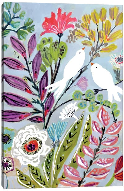 Bird Love II Canvas Art Print
