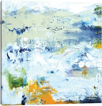 Abstract Beach Canvas Art Print