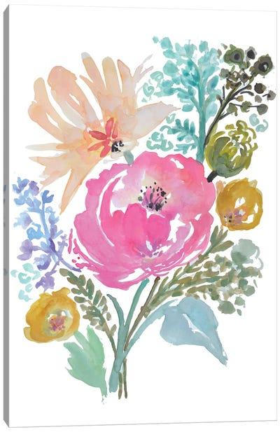 Flower Posy I Canvas Art Print