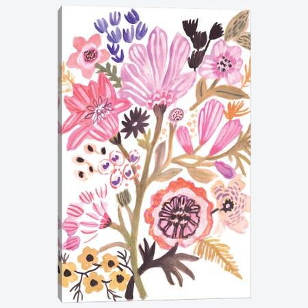 Flower Posy III Canvas Print #KFI83} by Karen Fields Canvas Print