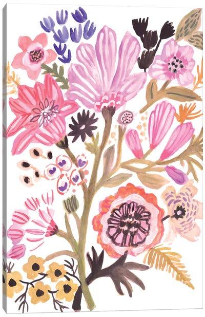 Flower Posy III Canvas Art Print