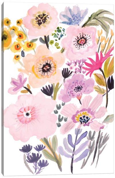 Flower Posy V Canvas Art Print