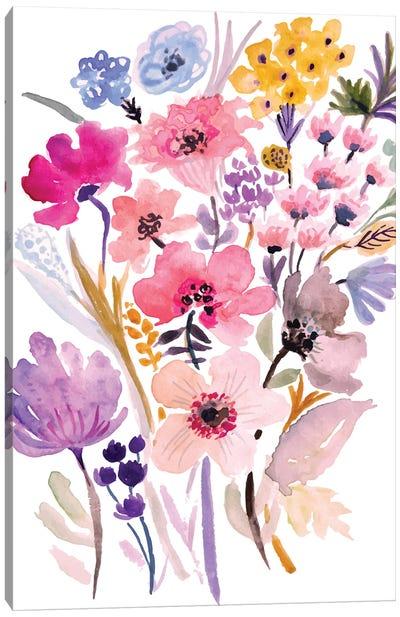 Flower Posy VI Canvas Art Print