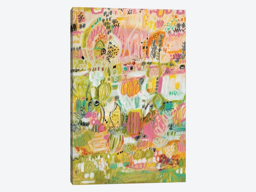 Boho Garden I by Karen Fields 1-piece Art Print