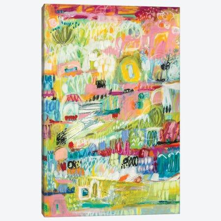 Boho Garden II Canvas Print #KFI9} by Karen Fields Art Print