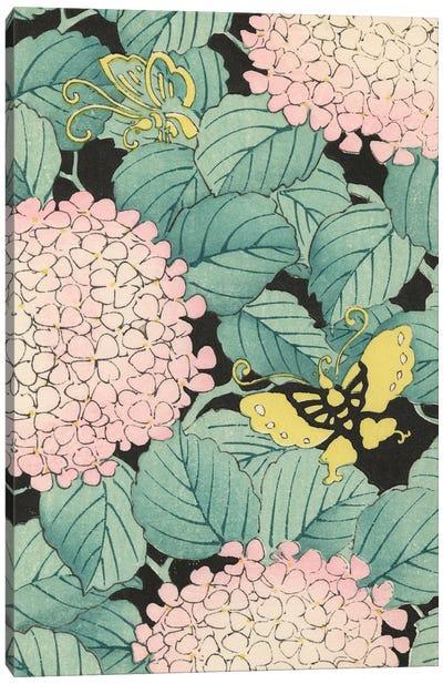 Japanese Floral Design I Canvas Art Print