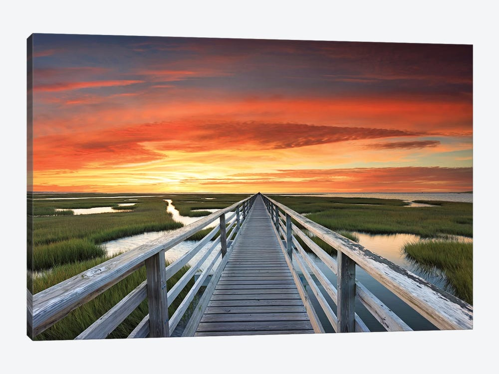 Greys Beach Sunset by Katherine Gendreau 1-piece Canvas Art