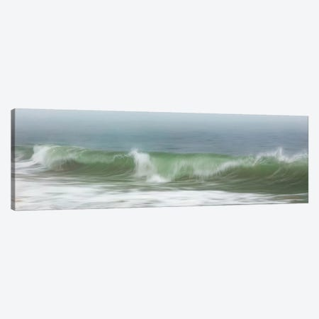 Surfside Beach In Fog Canvas Print #KGE3} by Katherine Gendreau Canvas Art