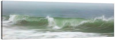 Surfside Beach In Fog Canvas Art Print