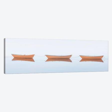 Three Dories II Canvas Print #KGE4} by Katherine Gendreau Art Print