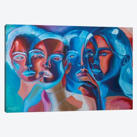 Сrossing Canvas Print #KGH10} by Kristi Goshovska Canvas Artwork