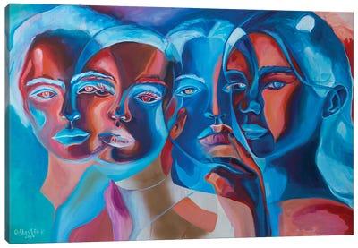 Сrossing Canvas Art Print
