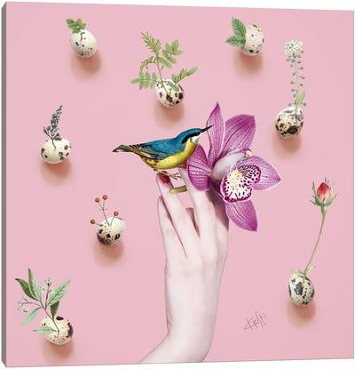 Inspiration Egg Canvas Art Print