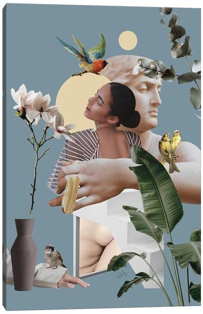 Sensual Garden Canvas Art Print