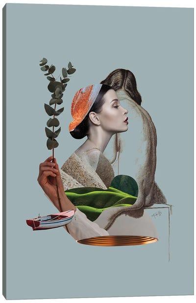 Sensual Garden III Canvas Art Print