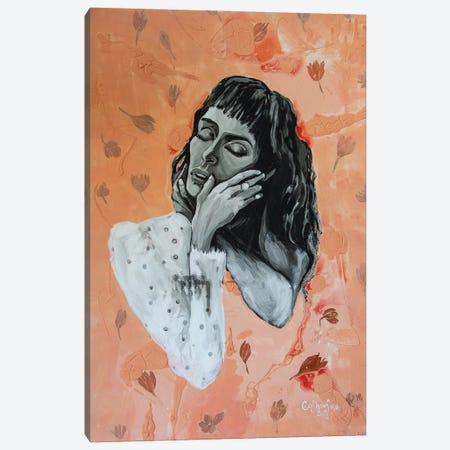 Saffron Canvas Print #KGH36} by Kristi Goshovska Art Print
