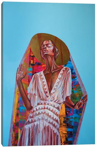 Under The Veil Canvas Art Print
