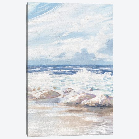 Crashing Waves Canvas Print #KGS11} by Kingsley Canvas Print