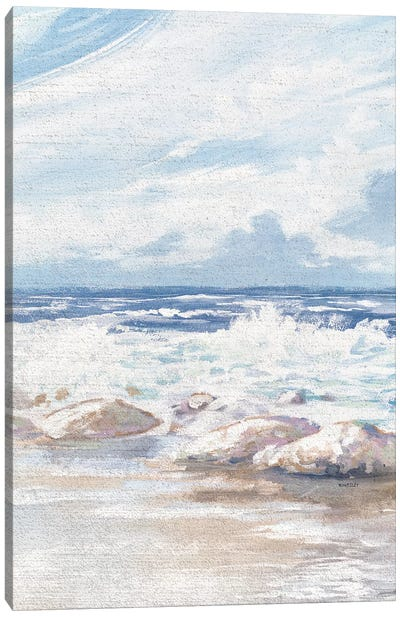 Crashing Waves Canvas Art Print