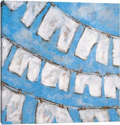 Dry Linen I Canvas Art Print
