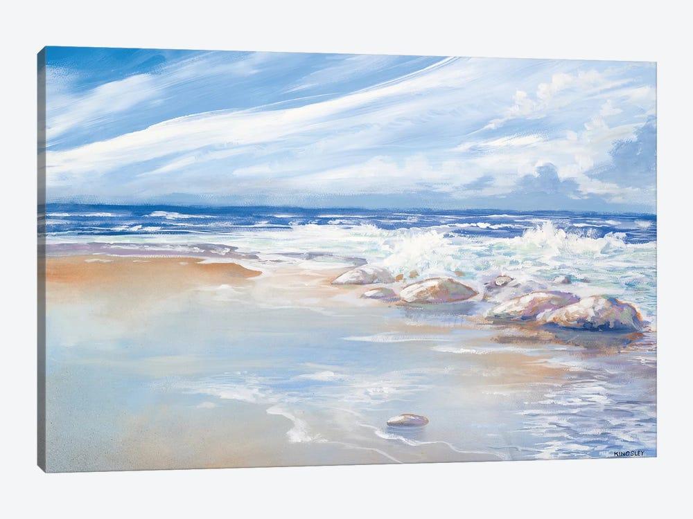 Beach by Kingsley 1-piece Canvas Print