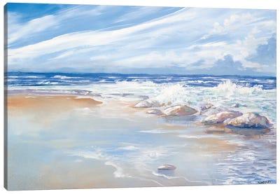 Beach Canvas Art Print